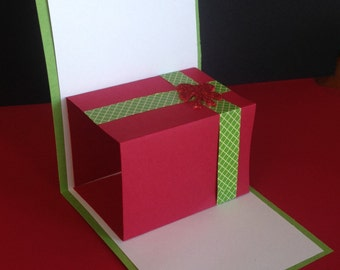 Pop-Up Gift Card Holder - Customize It! Perfect for the Holidays!