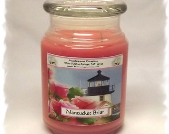 Nantucket Briar Paraffin Container Candle