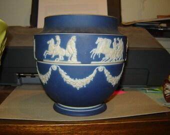 Adams and Son Jasper ware vase
