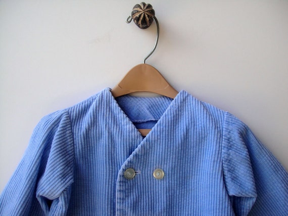 on sale baby boy clothes vintage jacket blue by
