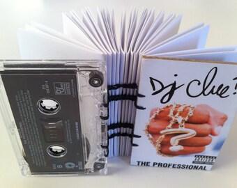 "DJ Clue? ""The Professional"" album - Cassette Tape Notebook"