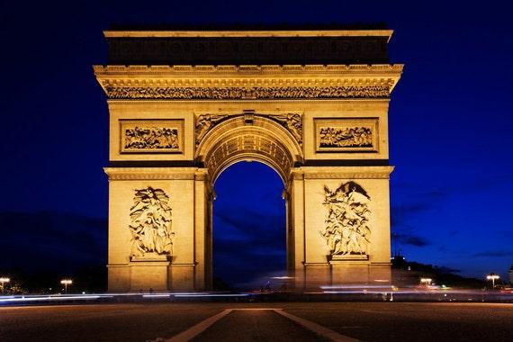 Paris wall decal arc de triomphe paris wall decal vinyl home for Arc de triomphe wall mural