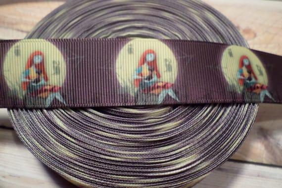 Nightmare Before Christmas Grosgrain ribbon, Jack Skellington Ribbon ...