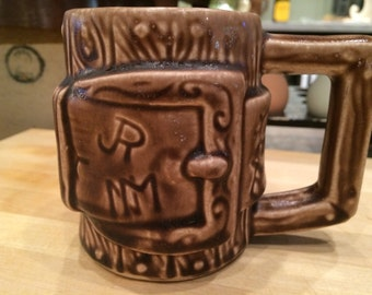 McCoy Western Ware JR Cattle Brand Mug No 934.