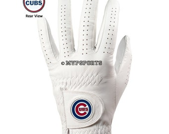 Chicago Cubs Golf Glove & Ball Marker