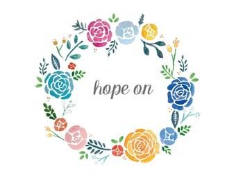 hope on Print
