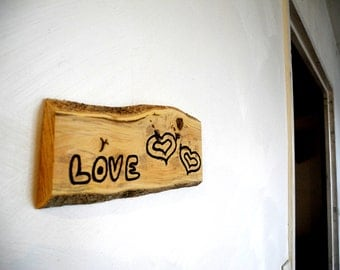 Love, boxwood engraving