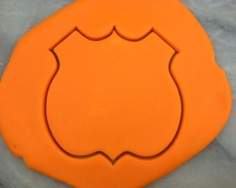 Highway Sign Route 66 Cookie Cutter - SHARP EDGES - FAST Shipping - Choose Your Own Size!