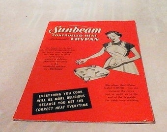 SUNBEAM! Controlled Heat Automatic Fry Pan!!!! 1953