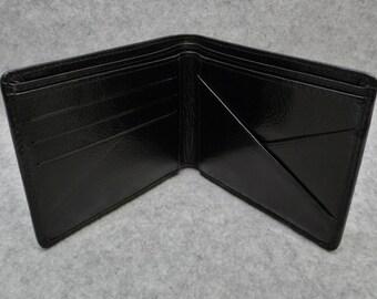 Men's Wallet (V Sleeve) in Black