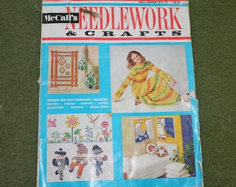 McCall's NEEDLEWORK & CRAFTS Fall-Winter 1971-72 Magazine