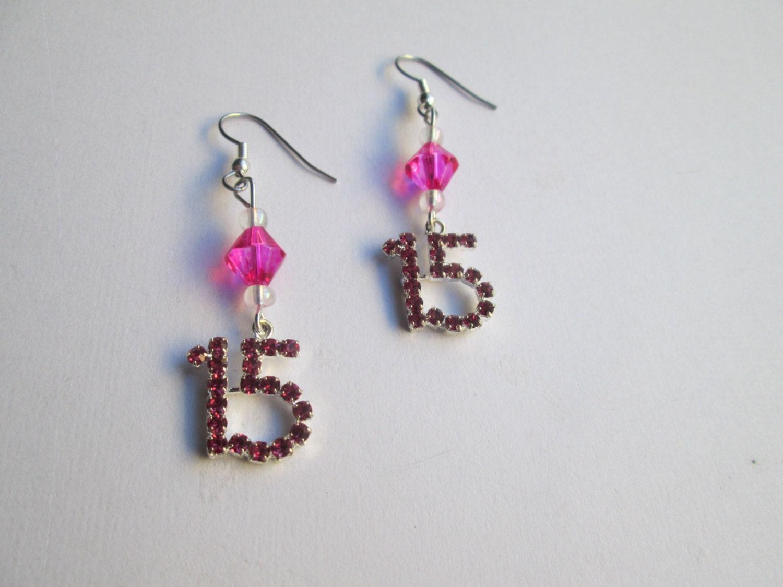 quinceanera earrings item 556