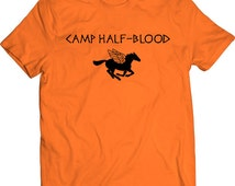 Camp Half Blood Triangle Tshirt Demigod Percy Jackson Book Movie Greek God Gift Brooklyn New York Horse Wings Half-Blood T-shirt Tee Shirt