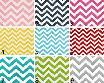 Nursery/Childrens Valance-Chevron Print Window Treatments-You Choose Your Size and Pattern