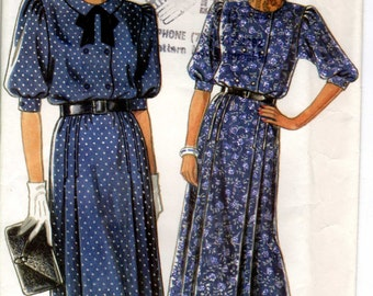 New Look 6371 Misses' sewing pattern for Dress Unused, Factory Folded in sizes 8-18