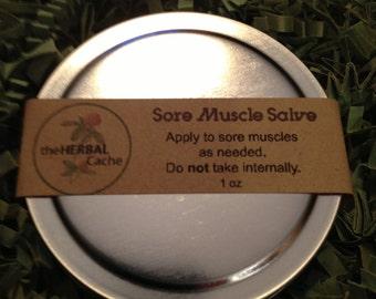 Sore Muscle Salve | Essential Oils | Health | Herbal | Natural