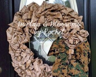 Patriotic Military Wreath