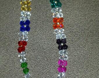 """Swarovski Crystal """"flower"""" Bracelet-2"""