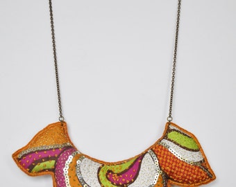 "Delirium cashmere collection - necklace ""Bollywood"""