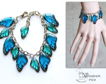 Bracelet. Butterfly wings #4