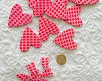 Self adhesive foam hearts set