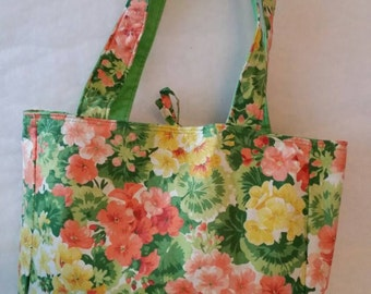 Earth Friendly Fabric Bag, Re-Usable Market Tote, Tote Bag, Baby Bag