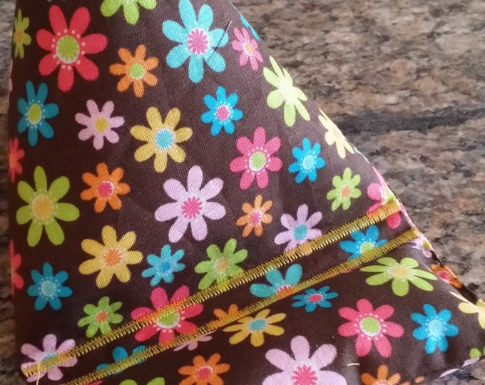 Gadget Bags-Whimsical Collection (Brown n Assorted Floral)