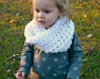 Child Neck Cowl [ Infant, Toddler,  & Child sizes available ]