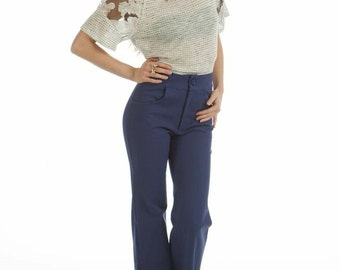 Your new favorite pair of high waist wide leg flares!  Exclusively designed by Doris & Franny.  Rock it with confidence.