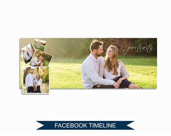Facebook Timeline Cover Photoshop Template - M005