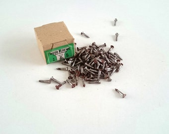 "5/8"" x 5 Flat head Antique Rusty Screws Amsterdam wood screws made in holland #5E8G4DK63"