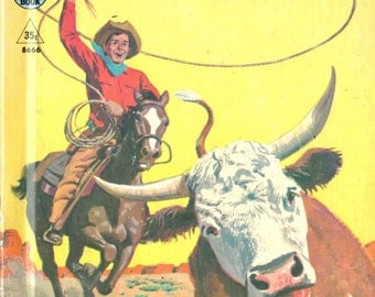Cowboys - Rand McNally Tip-Top Elf Book 1958
