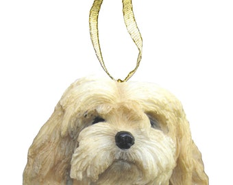 Lhasa Apso Ornament With Personalized Name Plate A Great Gift For  Lhasa Apso Lovers