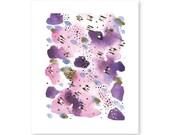 "Autumn Rain - 8x10"" modern watercolor PDF"