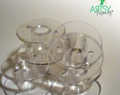 10 Pack Brother SA156 Plastic Bobbins