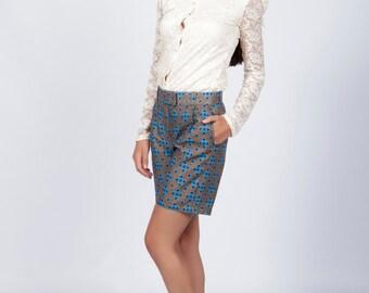 Shorts, Batik Shorts, Printed  Womens Shorts