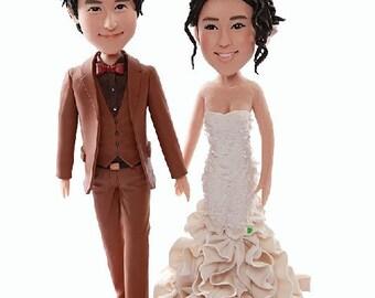 Wedding Cake Topper Traditional Wedding Cake Topper Personalized Wedding Cake Topper Wedding Topper Wedding Cake Toppers Custom Wedding