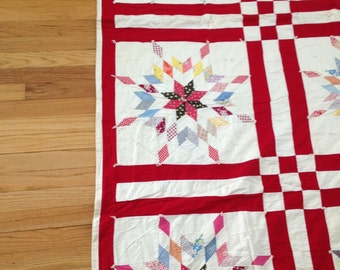 Quilt - Connecticut (Deep River) Early CT River Valley find