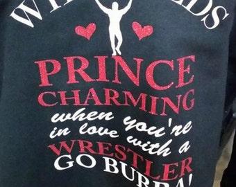 Wrestler's Girlfriend T-shirt