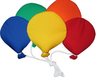 Large Grouping of Five Balloons Wall Hanging
