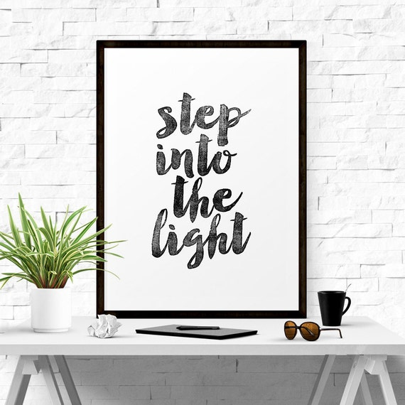 Step Into The Light And Let It Go: Step Into The Light Quotes. QuotesGram