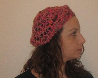 Finger knitted spring Beret! EGST