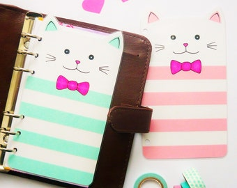 Kitty Personal / A5 / Pocket Planner Dashboard