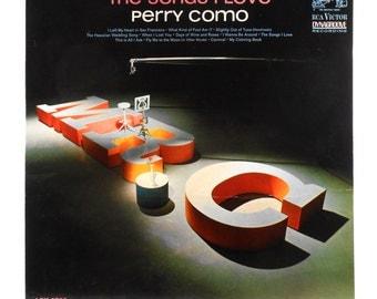 Perry Como The songs I Love 1963 Vintage Vinyl LP