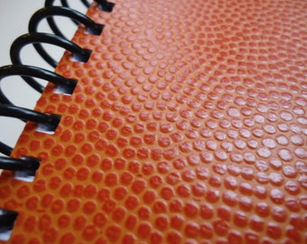 Textured Basketball Notebook (Three Available)