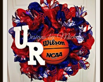 University of Richmond Spiders Basketball Wreath, BR045