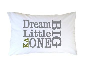 Kappa Delta Little Sister Pillowcase