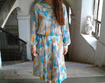 Dress dress years 70s vintage