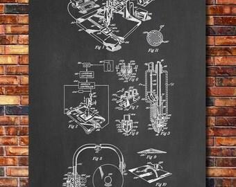 3D Printer Patent Print Art 1992 A