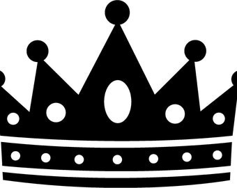 Crown Car Decal Etsy